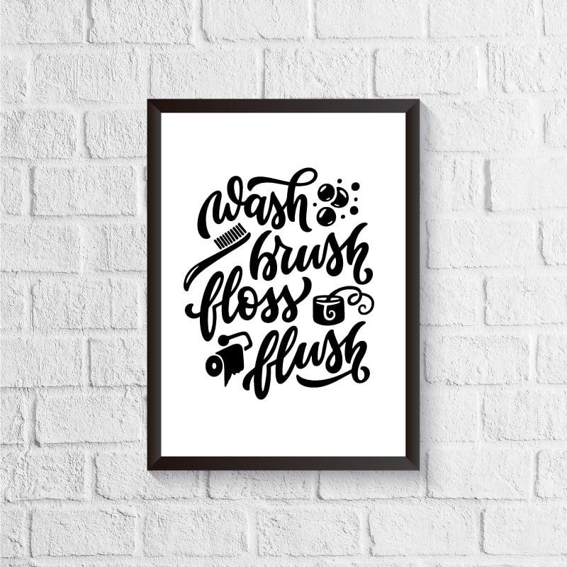 Quadro Wash Brush Floss Flush
