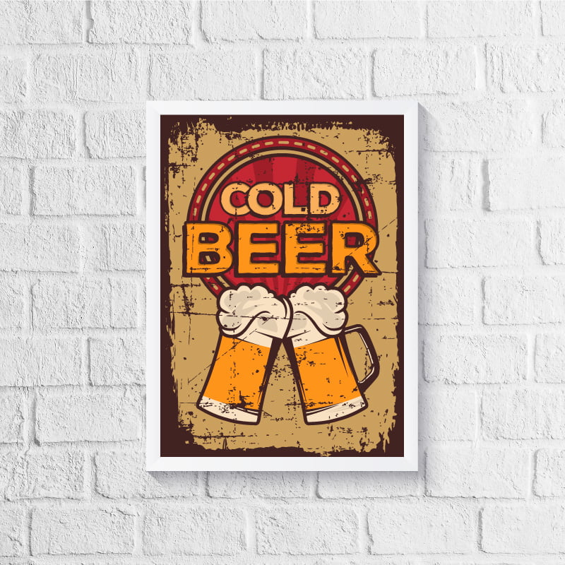 Quadro Cold Beer
