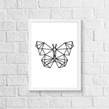 Quadro Borboleta - Geométrico