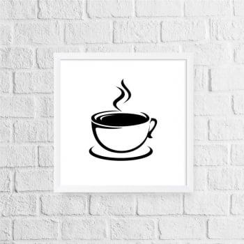 Quadro Xícara Café