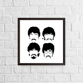 Quadro The Beatles - Minimalista